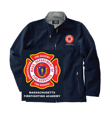 Massachusetts Fire Academy Ultima Soft Shell Jacket / Charles River 9916-5916