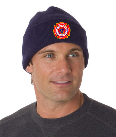 Massachusetts Fire Academy Beanie w/Cuff