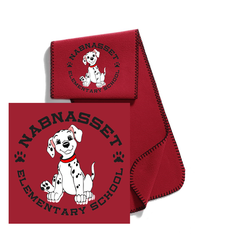 Nabnasset School Fleece Scarf / Port Authority® R-Tek®  FS01