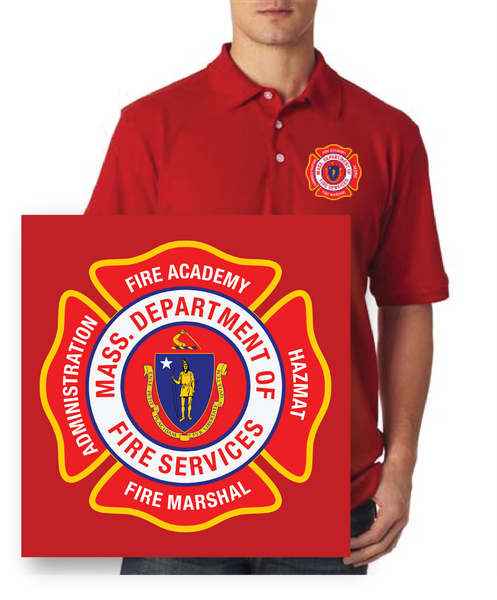 Massachusetts Fire Academy Classic Polo / UltraClub 8535-8530
