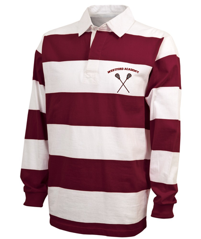 WA Lacrosse Charles River Classic Rugby Shirt / 9278