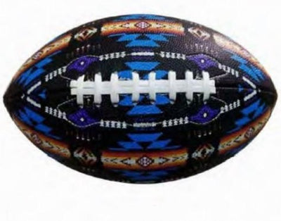Football Native American Style - Black