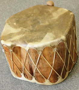 "Cochiti Log Drum 18""x 13"""