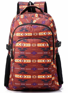 Utility Backpack - Burgundy