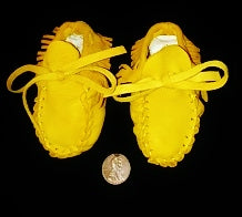 Deer Moccasins for New Borns