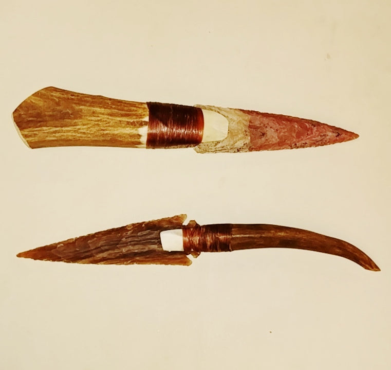 "Antler Handle 4.75""-5"" Arrowhead Blade"
