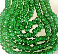 Green Tr Crow beads