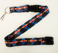 Native Design Lanyard - Black