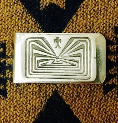 Man-in-a-Maze Money Clip
