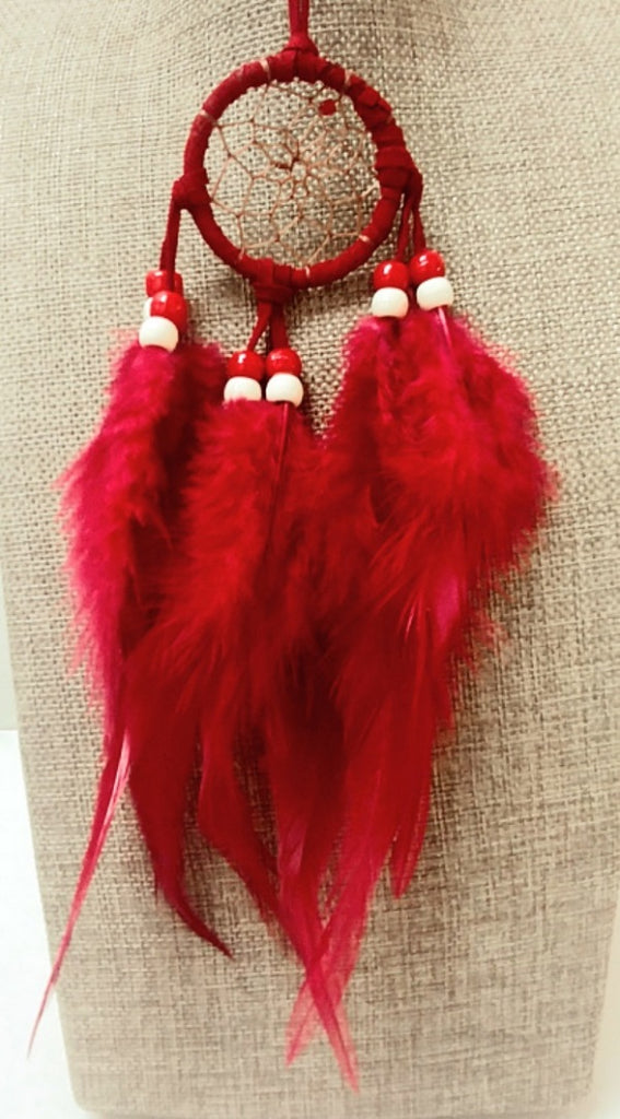 "2"" Dream Catcher - Red"