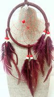 "5"" Dream Catcher - Burgundy"