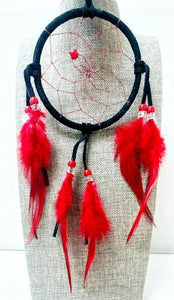 "4"" Dream Catcher - Black"