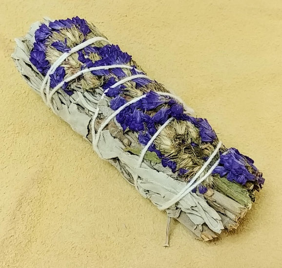 "Purple Floral Sage 4"" Bundle"