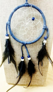 "4"" Dream Catcher - Gray/Blue"
