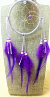"4"" Dream Catcher - Purple"