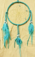 "6"" Dream Catcher - Teal/Turquoise"