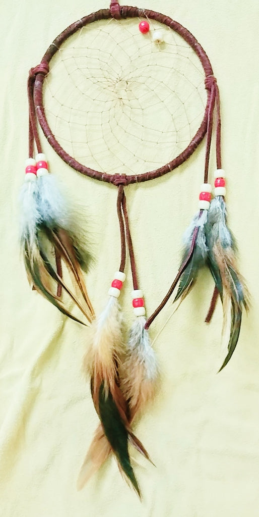"6"" Dream Catcher - Burgundy"