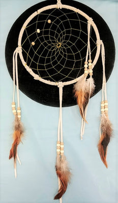 "9"" Dream Catcher - White"