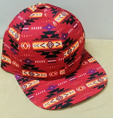 Southwest Style Cap - Red