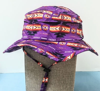 Southwest Style Camper Hat - Purple