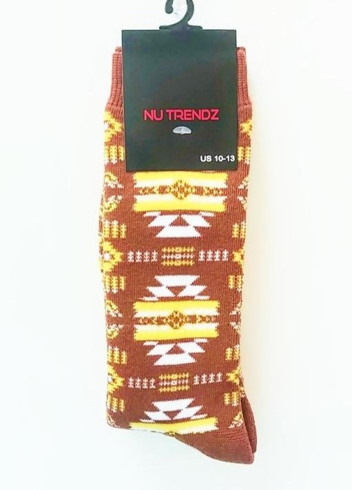 SW Style Socks - Gold/Brown