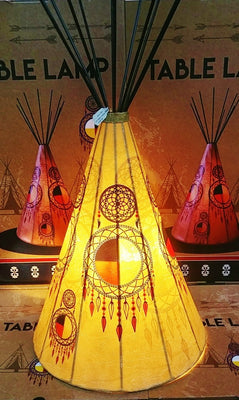 Table Lamp - Medicine Wheel