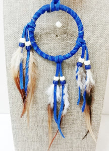 "3"" Dream Catcher - Blue"