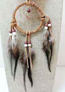 "3"" Dream Catcher - Brown"