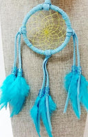 "3"" Dream Catcher - Teal/Turquoise"