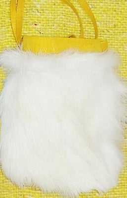 Rabbit fur Light - Medicine Bag 5""