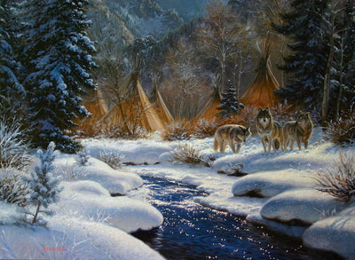 Winter Intruders Jigsaw Puzzle