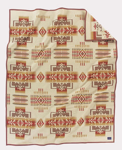 Blanket - Chief Joseph Creme/Wheat