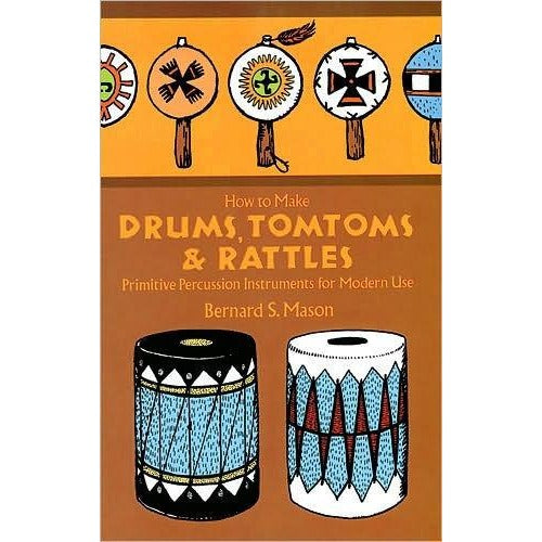 How To Make Drums, Tom toms, & Rattles