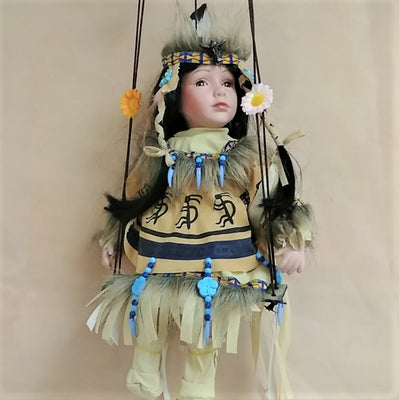 "Swing Doll Koko 16""- Beige"