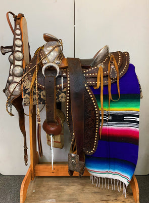 Vintage 1930's Show Saddle Set