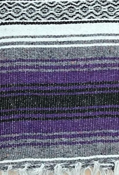 Falsa Blanket Purple + Grey