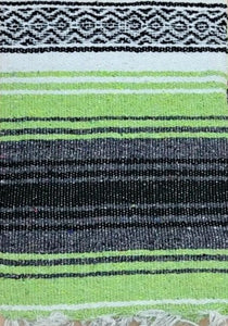 Falsa Blanket Lt Green / Grey
