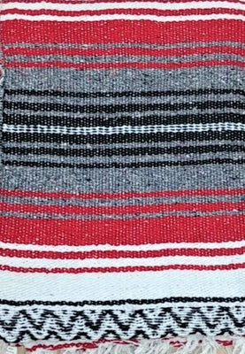 Falsa Blanket Red/Grey