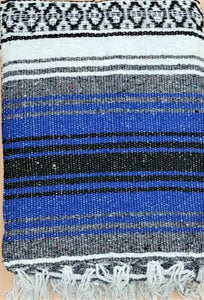 Falsa Blanket Blue / Grey