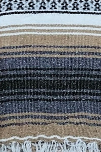 Falsa Blanket Beige/White