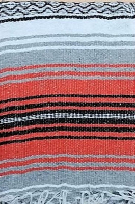 Falsa Blanket Orange/Grey
