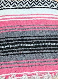 Falsa Blanket Dark Pink/Grey