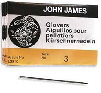 Glover Needles - Size 3 (25 pack)