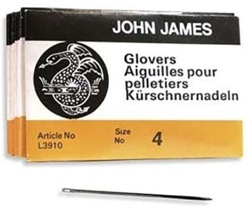Glover Needles - Size 4 (25 pack)