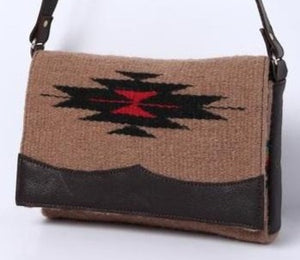 Wool Purses - Brown