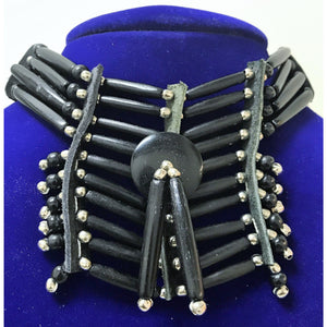 Breastplate Choker - Black