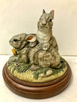 Back Scratch - Rabbit Figurine