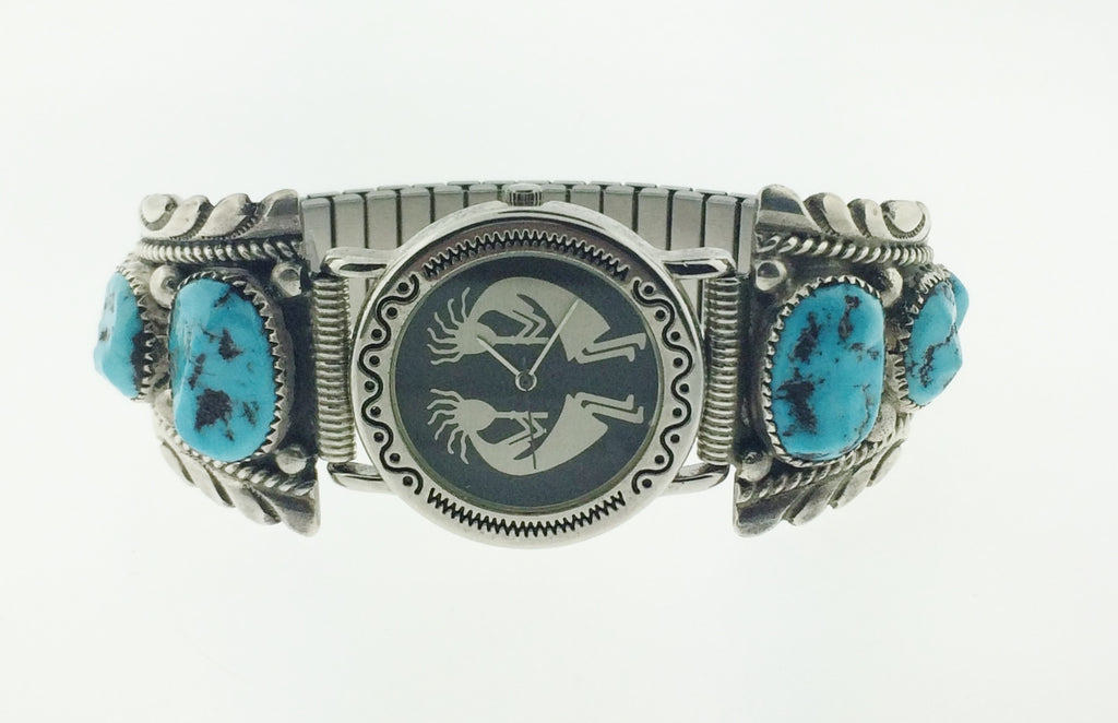 Robert & Bernice Leekya Turquoise Men's Watch