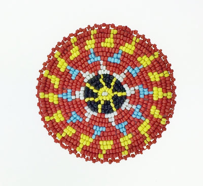 "3"" Red Yellow Star Rosette 5A"