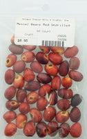 Mescal Beans Red Undrilled